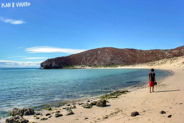 plan b viajero, la paz baja california sur, playa balandra
