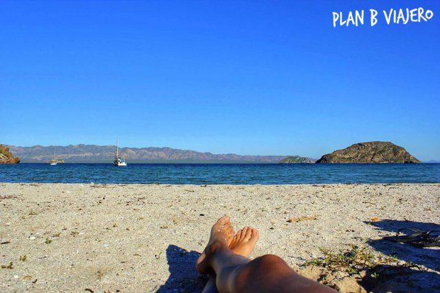 plan b viajero, bahia concepcion baja california sur, las playas más lindas de Mexico, playas donde acampar en Mexico