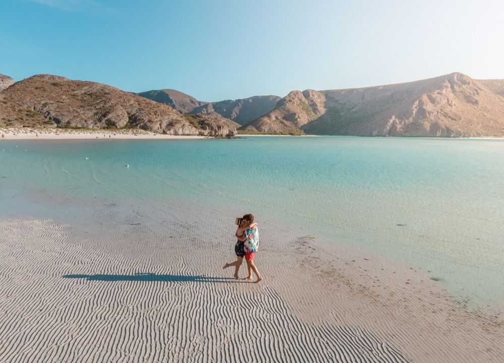 plan b viajero, playa balandra, mejores lugares en baja california sur