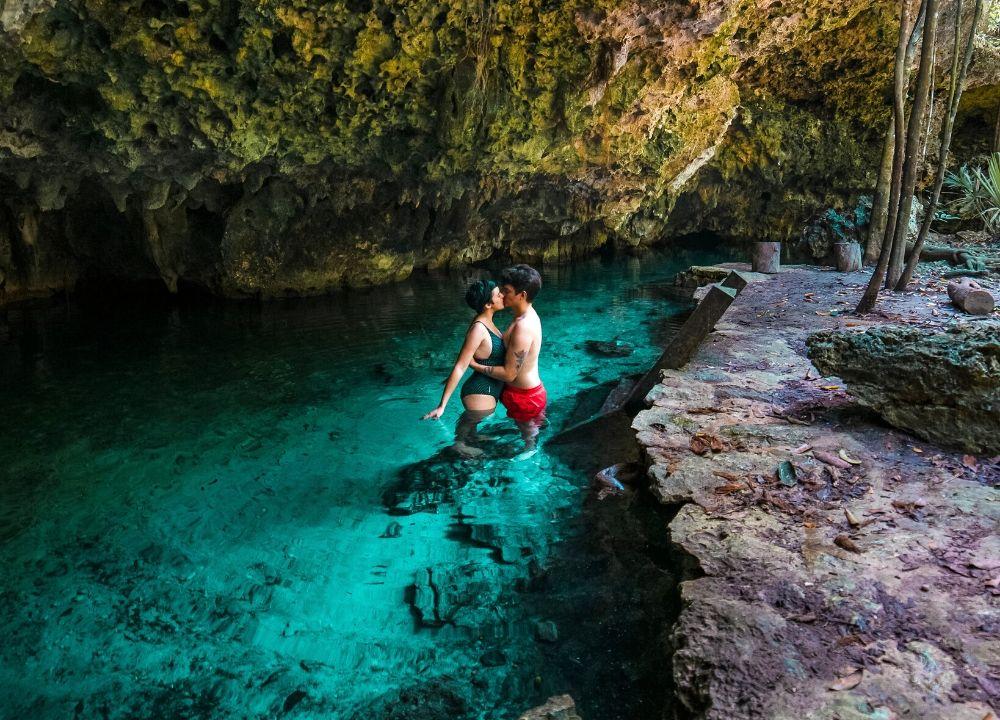 plan b viajero, cenotes tulum, cenote dos ojos