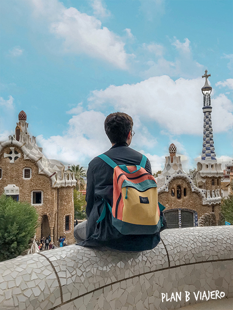 plan b viajero, parc guell, arquitectura gaudi, que ver en barcelona
