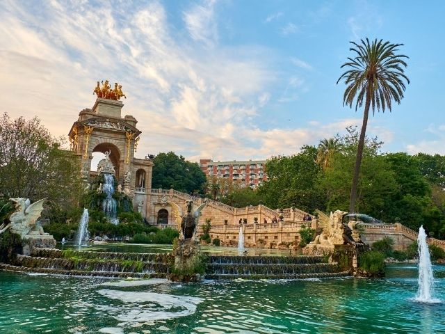 barcelona, parc de la Ciutadella
