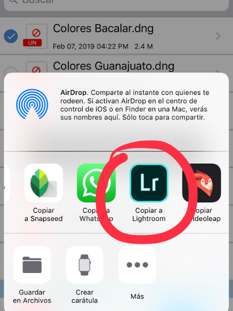 plan b viajero, como instalar lightroom presets en iphone