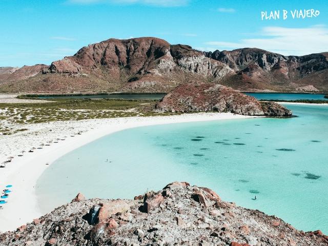 plan b viajero, guia para viajar a mexico por primera vez, playa balandra, la playa más linda de México