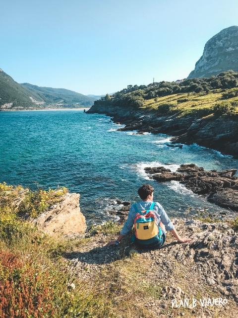 plan b viajero, turismo responsable, cantabria playas liendo, Punta Sonabia