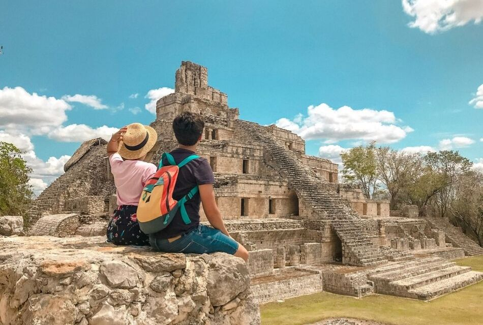 plan b viajero, campeche y zona arqueologica de Edzna
