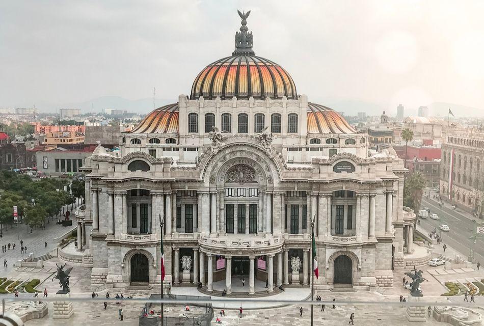 lugares para conocer en cdmx, palacio de bellas artes mexico