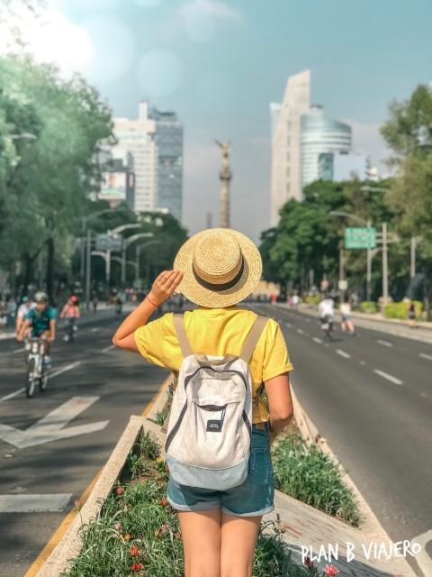lugares para visitar en Ciudad de Mexico, reforma, angel de la independencia