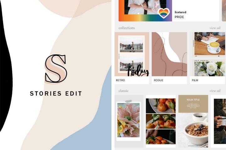 apps para instagram stories, stories edit