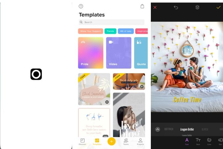 apps que necesitas si eres creador de contenido en Instagram, app para agregar texto a foto