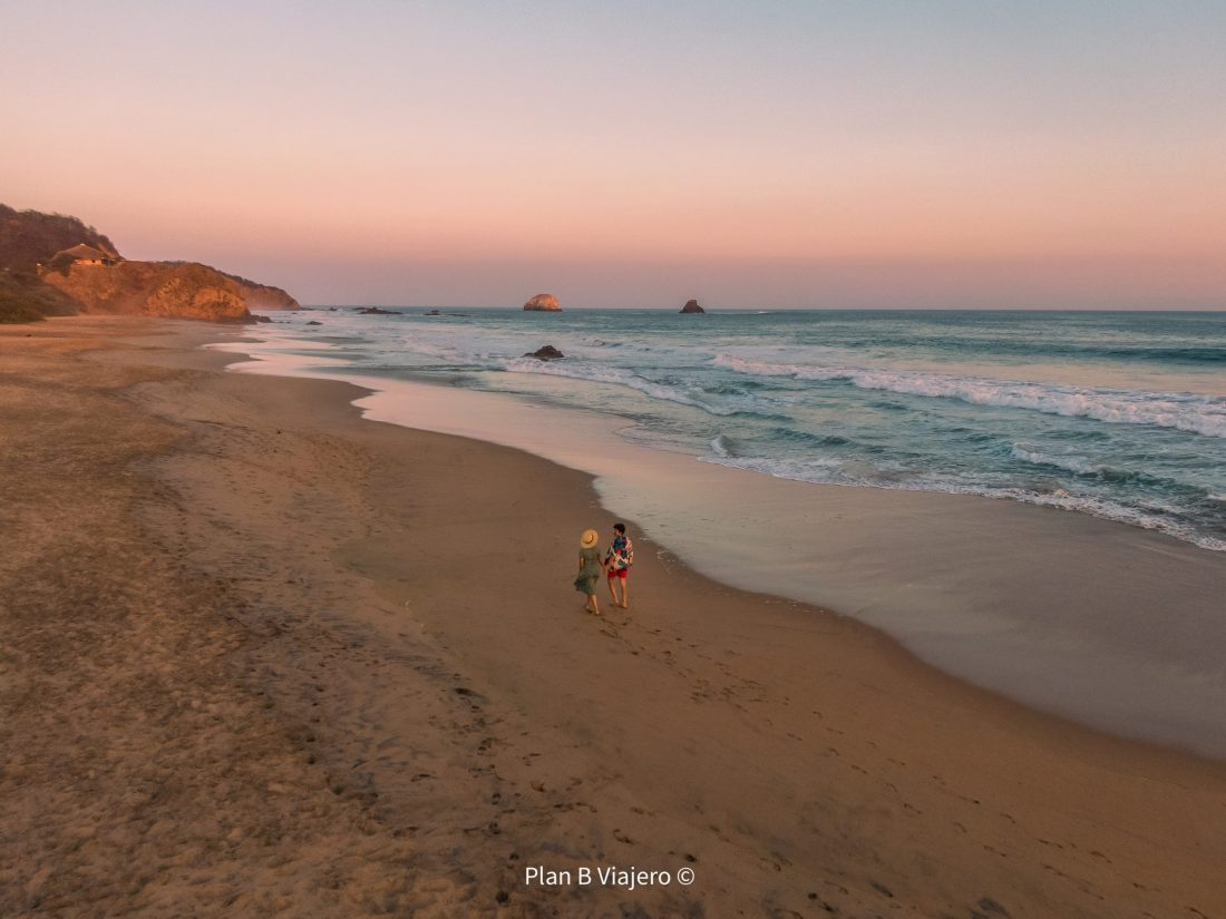 guia para viajar a la costa de oaxaca, mejores playas en oaxaca, playas de mexico