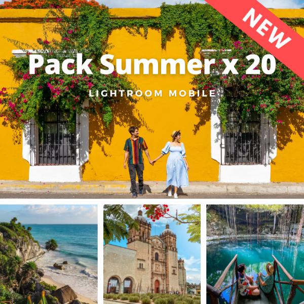 plan b viajero, lightroom presets x 20 new